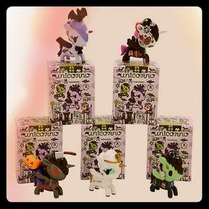 💀 Set of 3 Halloween Unicornos 💀